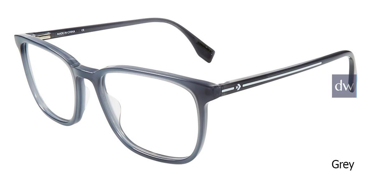 Grey Converse Q313 Eyeglasses.