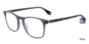 Grey Converse Q322 Eyeglasses.