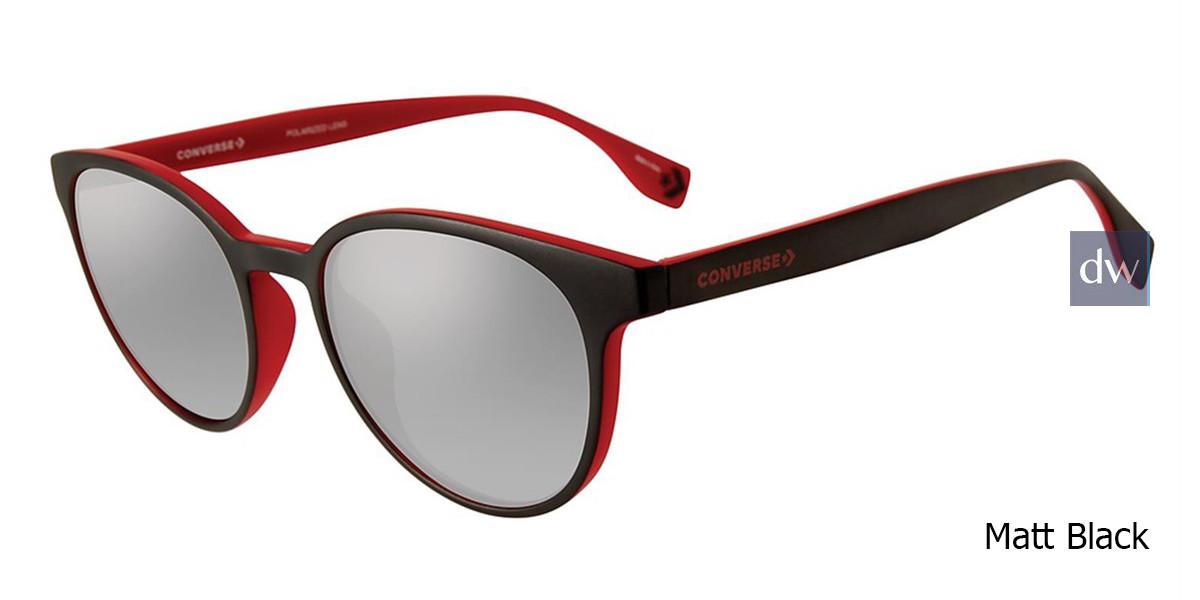 Matte Black Converse SCO048 Sunglasses.