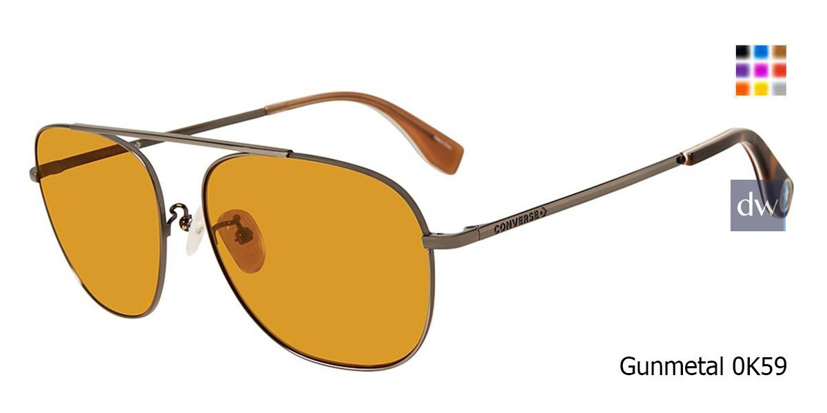 Gunmetal 0K59 Converse SCO056 Sunglasses.