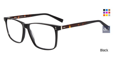 Black John Varvatos V380 Eyeglasses.