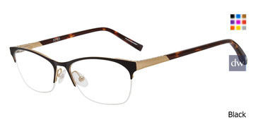Black Jones new york J148 Eyeglasses Teenager.
