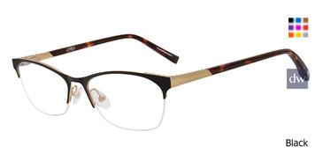 Black Jones new york Petite J148 Eyeglasses Teenager.