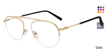 Gold Jones New York J359 Eyeglasses.