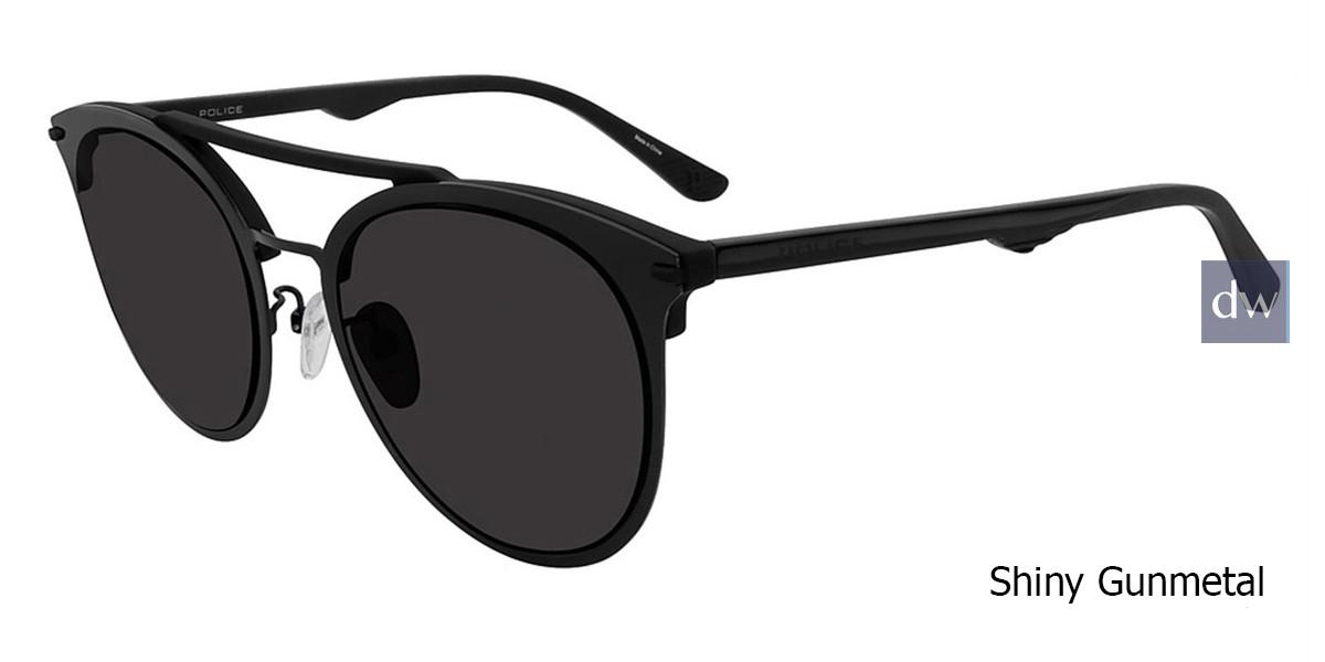 Shiny Gunmetal Police  SPL491 Sunglasses