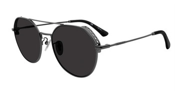 Dark Gunmetal Police SPL636 Sunglasses.