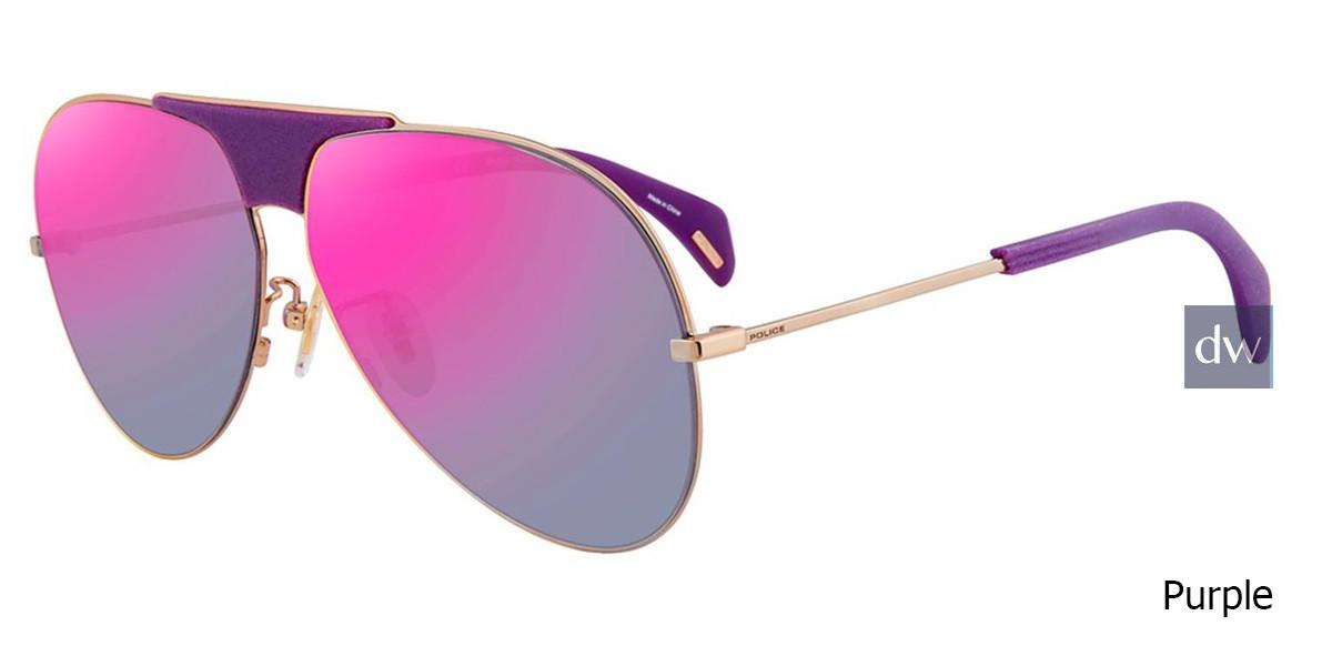 Purple Police SPL740 Sunglasses