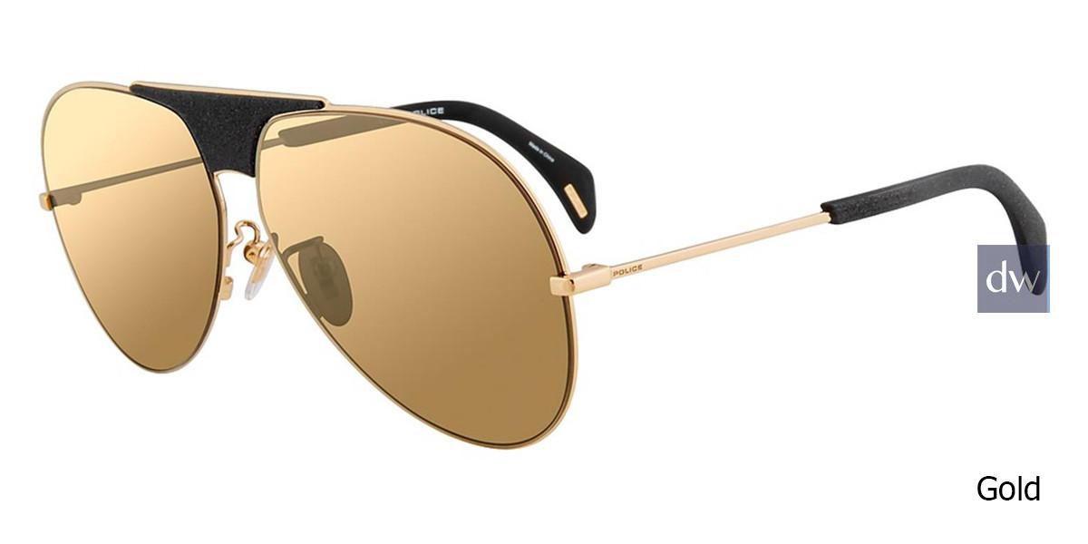 Gold Police SPL740 Sunglasses