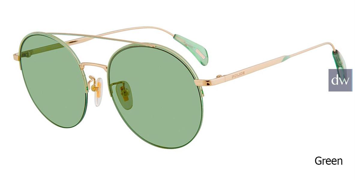 Green Police SPL741 Sunglasses.