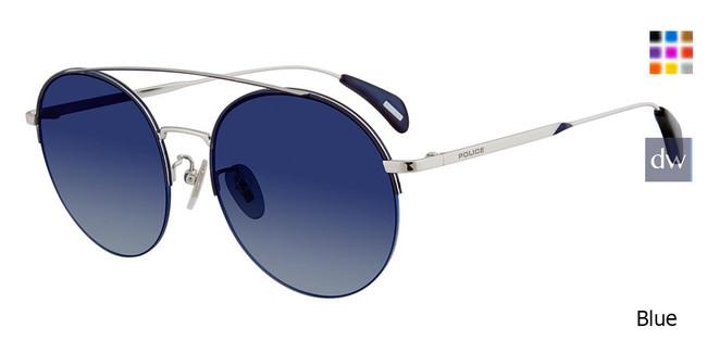 Blue Police SPL741 Sunglasses.
