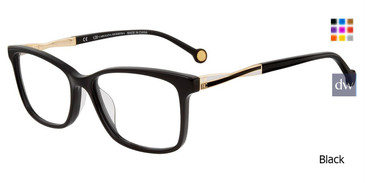 Black Carolina Herrera VHE781K Eyeglasses.