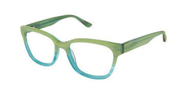 Green Gwen Gx By Stefani GX806 Eyeglasses.