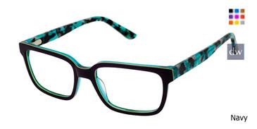 Navy Gx By Gwen Stefani GX808 Eyeglasses.