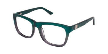 Green/Grey Gx By Gwen Stefani GX003 Eyeglasses.