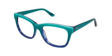 Teal/Blue Gx By Gwen Stefani GX004 Eyeglasses.
