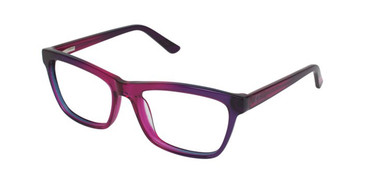 Raspberry/Purple Gx By Gwen Stefani GX017 Eyeglasses.