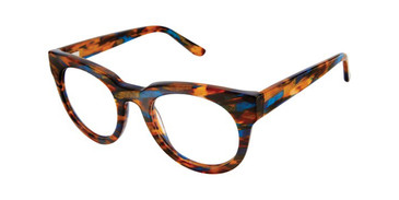 Blue Horn Gx By Gwen Stefani GX038 Eyeglasses Teenager.