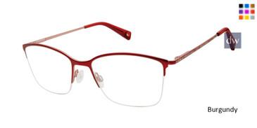 Burgundy Brendel 902243 Eyeglasses.