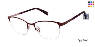 Eggplant Brendel 902250 Eyeglasses.