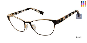Black Brendel 922051 Eyeglasses.