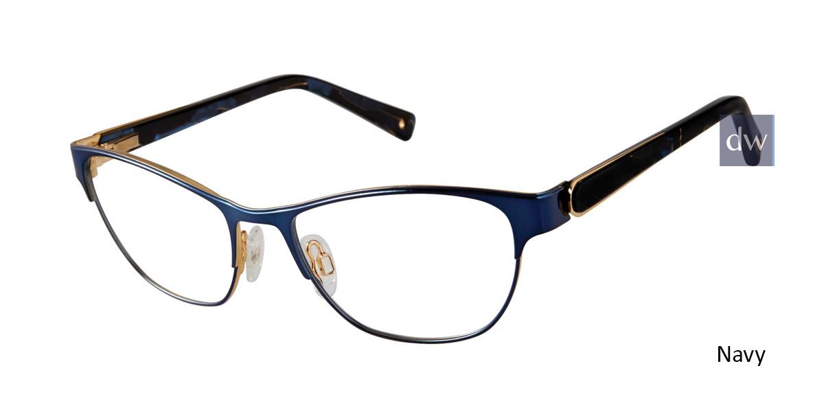 Navy Brendel 922051 Eyeglasses.