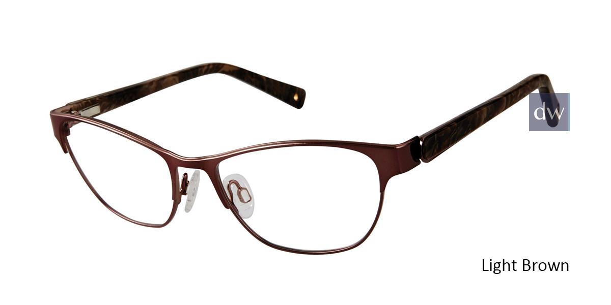 Light Brown Brendel 922051 Eyeglasses.
