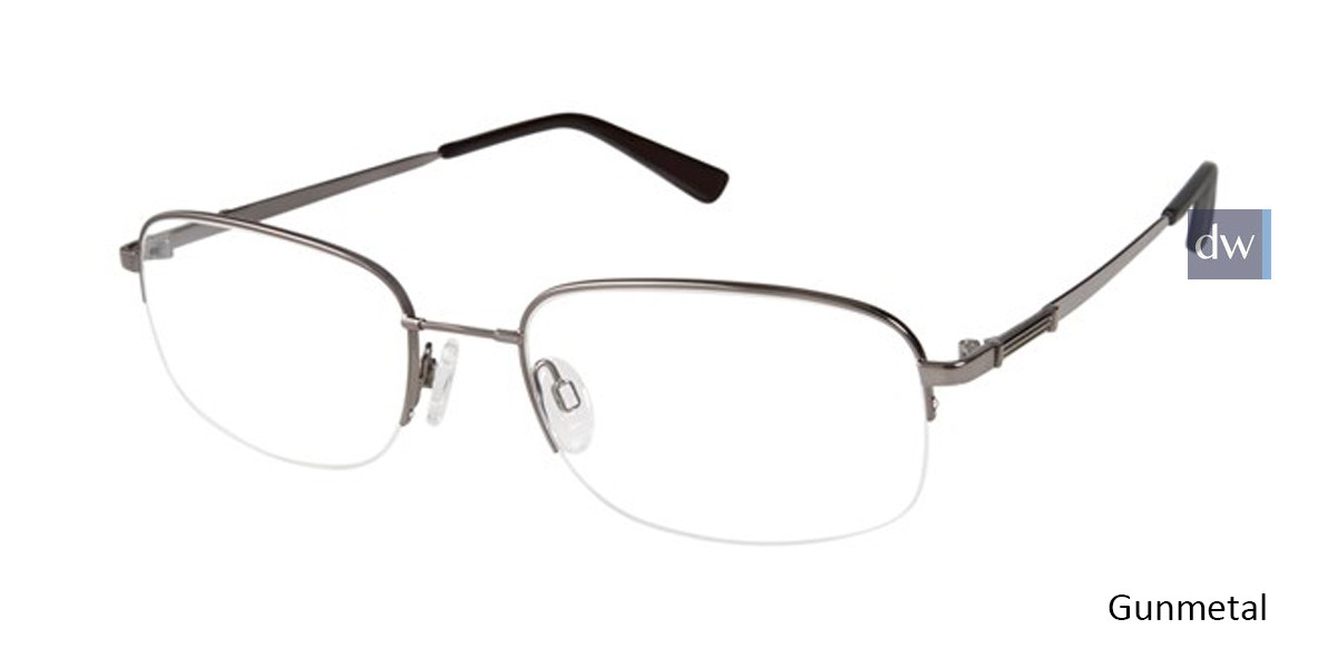 Gunmetal Titan Flex M968 Eyeglasses.
