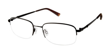 Black Titan Flex M968 Eyeglasses.
