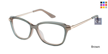 Brown Brendel 924022 Eyeglasses.