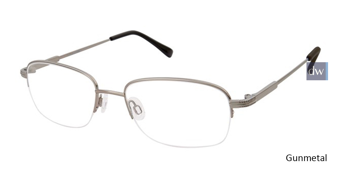 Gunmetal Titan Flex M964 Eyeglasses.