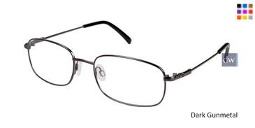 Dark Gunmetal Titan Flex M962 Eyeglasses