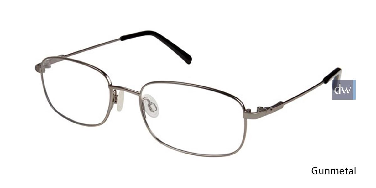 Gunmetal Titan Flex M962 Eyeglasses.