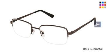 Dark Gunmetal Titan Flex M956 Eyeglasses