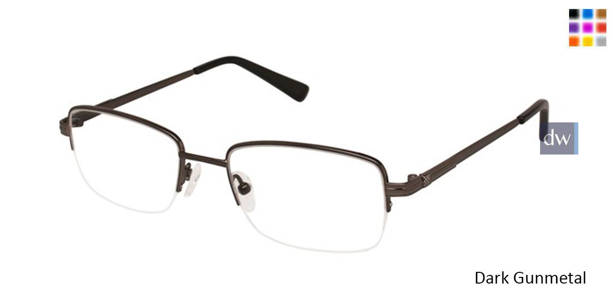 Dark Gunmetal Titan Flex M956 Eyeglasses.