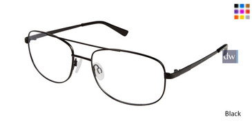 Black Titan Flex M563 Eyeglasses