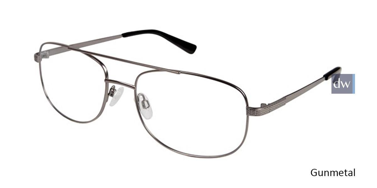 Gunmetal Titan Flex M563 Eyeglasses