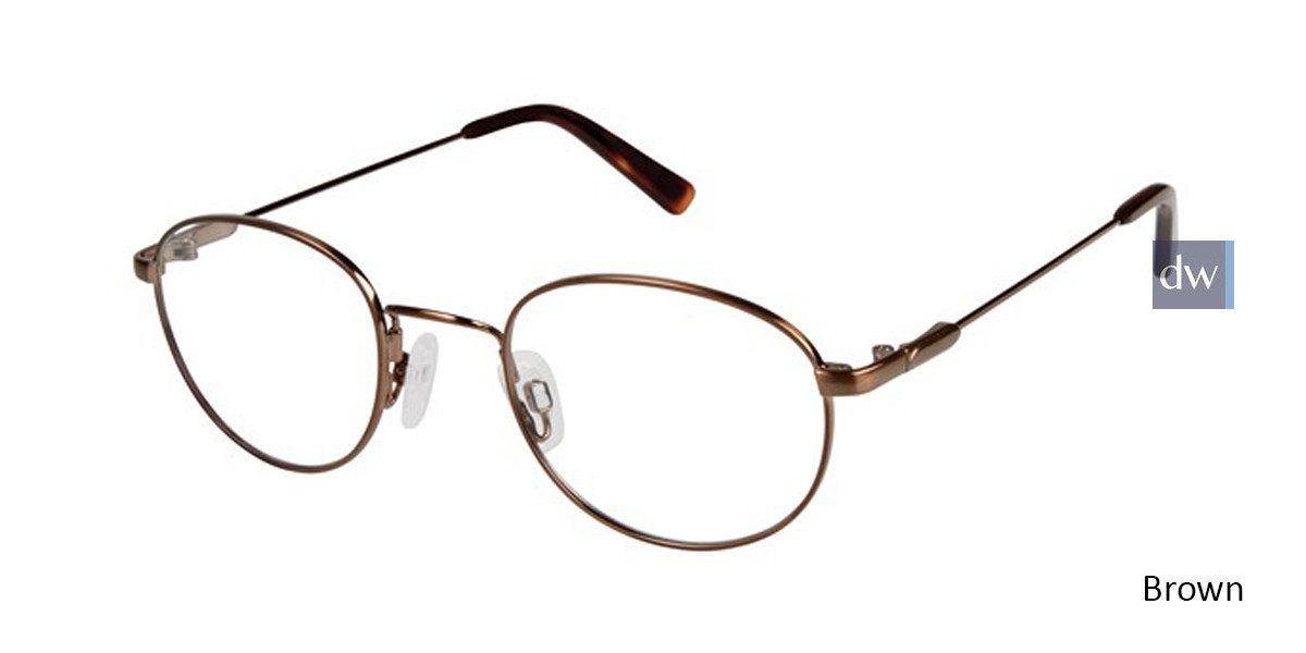 Brown Titan Flex M562 Eyeglasses