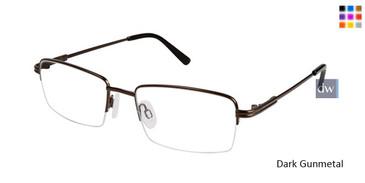 Dark Gunmetal Titan Flex M561 Eyeglasses