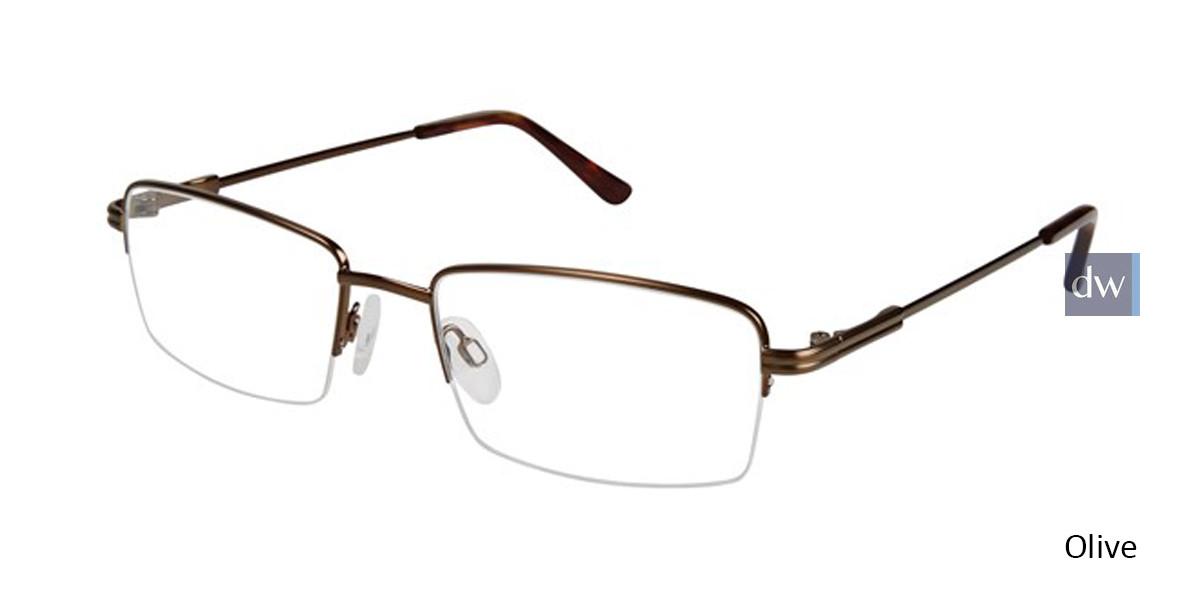 Olive Titan Flex M561 Eyeglasses