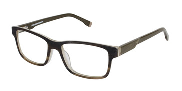 Dark Brown Humphrey's 594016 Eyeglasses.