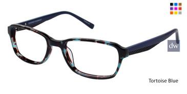 Tortoise Blue Humphrey's 594003 Eyeglasses