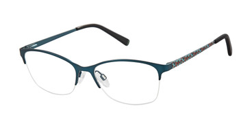 Teal Blue Humphrey's 592041 Eyeglasses.