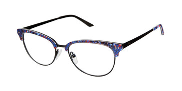 Black Blue Humphrey's 592039 Eyeglasses.
