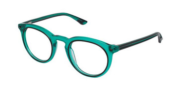 Green/Black Gx By Gwen Stefani GX018 Eyeglasses.