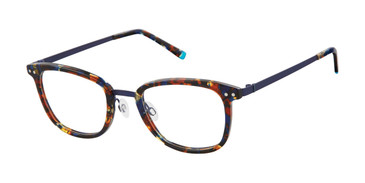 Tortoise Blue Humphrey's 581047 Eyeglasses - Teenager.