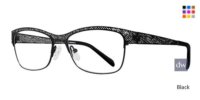 Black Serafina Bethany Eyeglasses