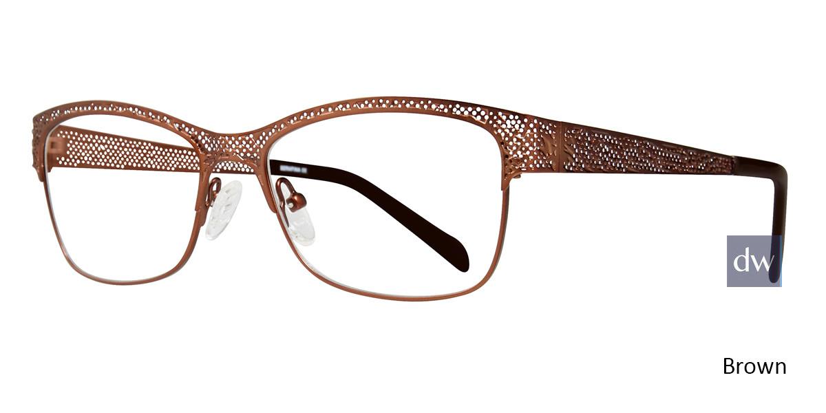 Brown Serafina Bethany Eyeglasses