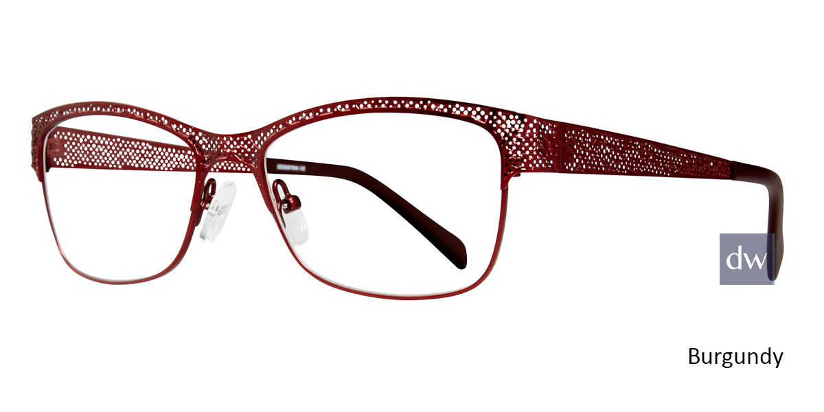 Burgundy Serafina Bethany Eyeglasses
