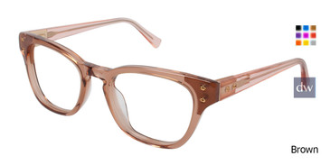 Brown Kate Yong For Tura K102 Eyeglasses.