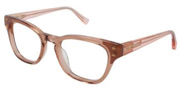 Brown Kate Yong For Tura K102 Eyeglasses.